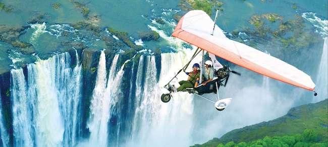 batoka sky microlight flight victoria falls