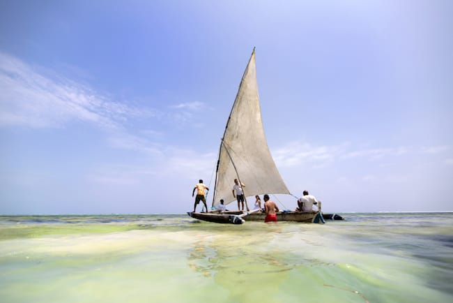 matemwe lodge zanizbar holiday dhow cruise