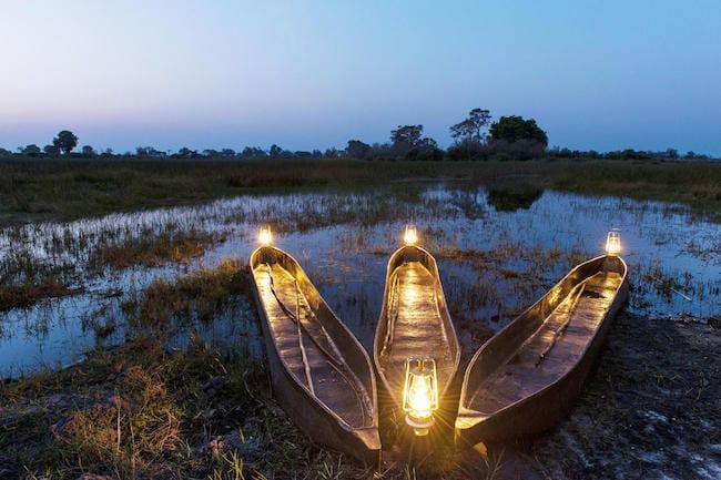 okavango delta botswana safari mokoro