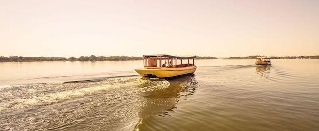 ra ikane sunset cruise zimbabwe safari